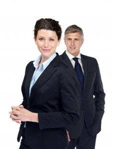 http://www.dreamstime.com/stock-photos-female-executive-her-colleague-back-image16595183